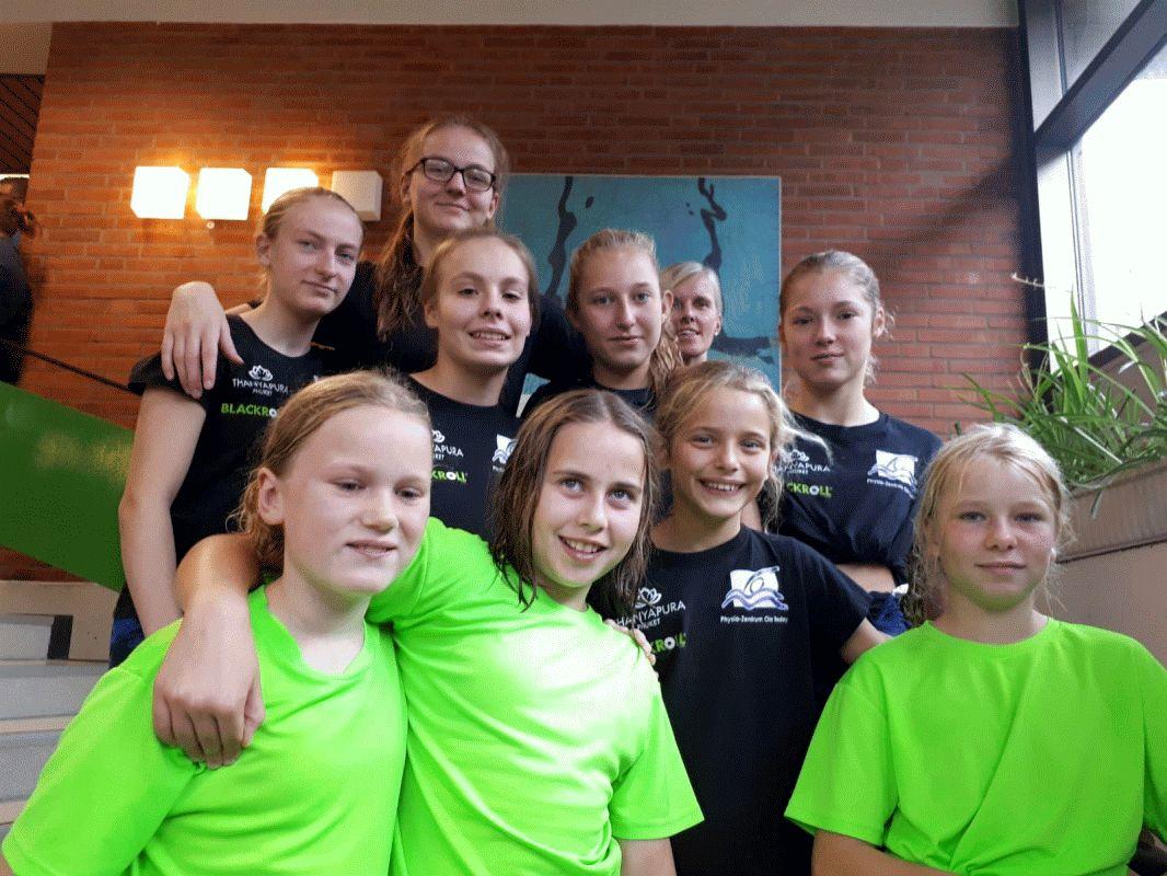 Bezirksstaffelmeisterschaften im Schwimmen in Cuxhaven