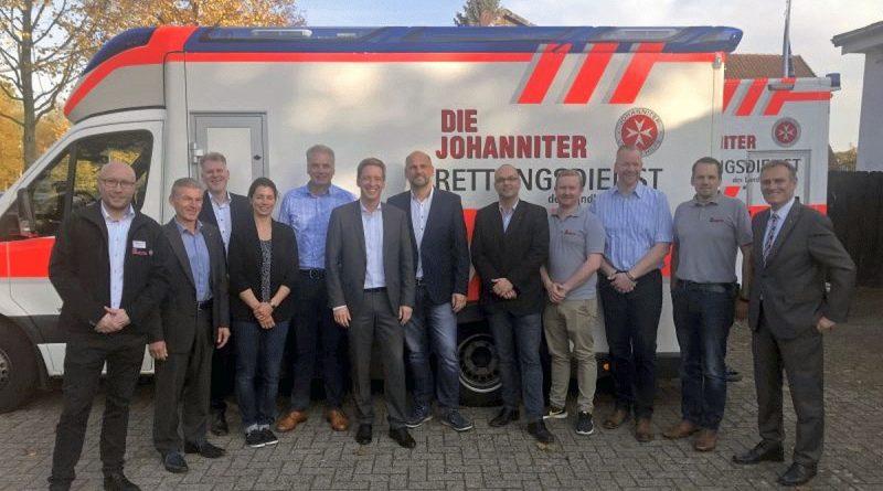 Bundesvorstand besucht Celler Johanniter – Neue Kita, Demenz WG und eine Interims-Rettungswache Eschede sind die Highlights des Besuchs