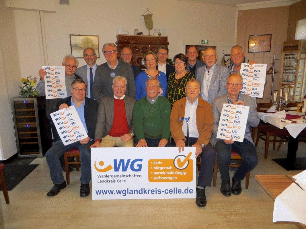 Die Wählergemeinschaften im Landkreis treten auf Kreisebene nur noch mit einheitlichem Logo auf