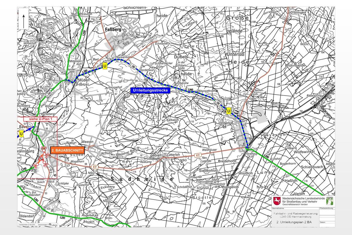 L 240: Fahrbahn- und Radwegerneuerung zwischen Beckedorf und Baven
