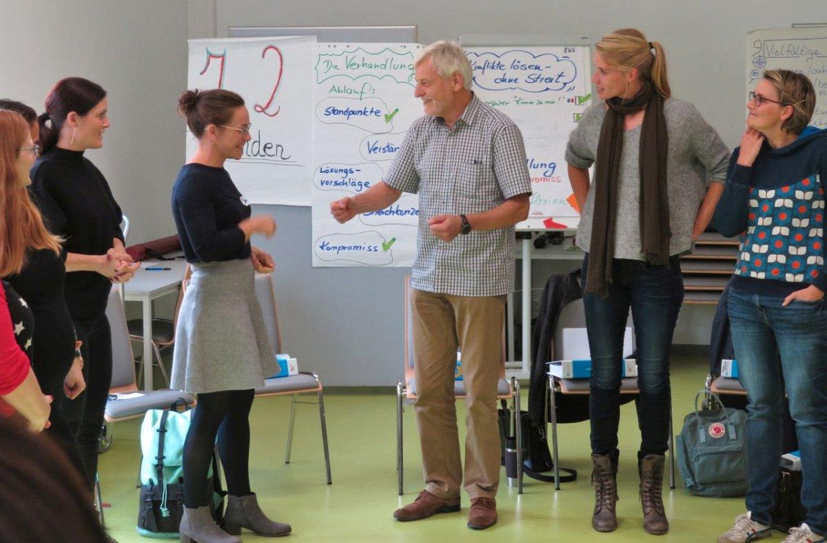 """Schule im Allertal / Oberschule Westercelle: Gemeinsame Lions Quest-Fortbildung """"Erwachsen werden"""" im Rahmen des Kooperationsvertrages"""