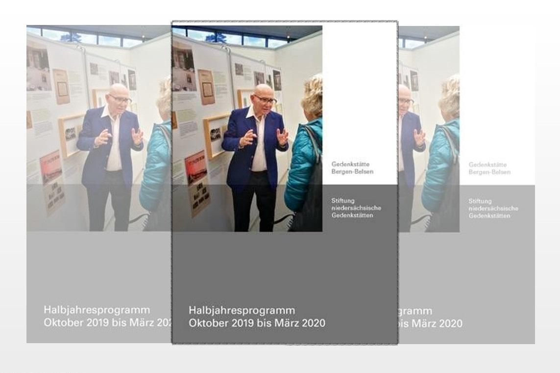 Halbjahresprogramm der Gedenkstätte Bergen-Belsen