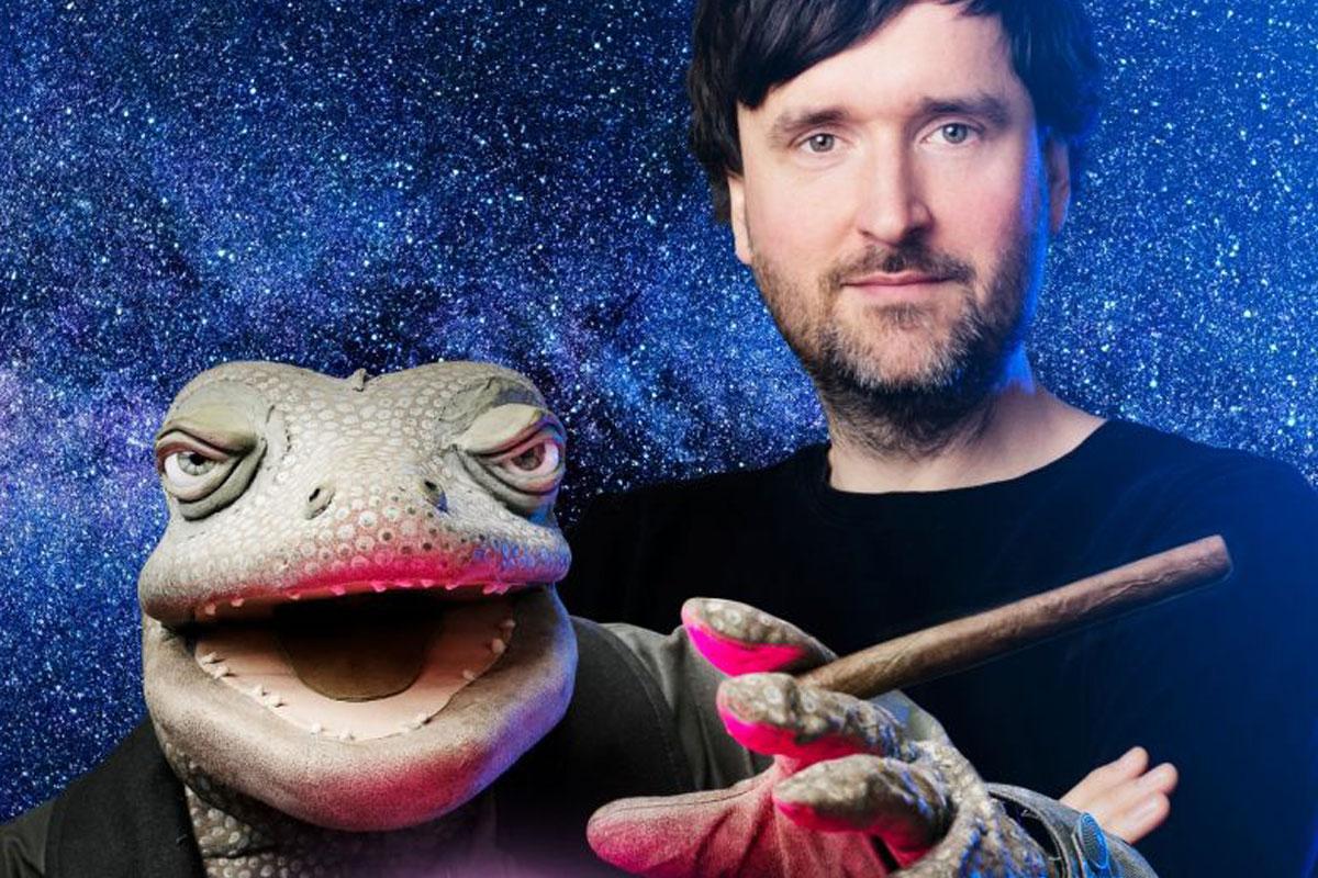 Michael Hatzius in der CD-Kaserne – Echsoterik, das neue Programm des ausgezeichneten Puppenspielers