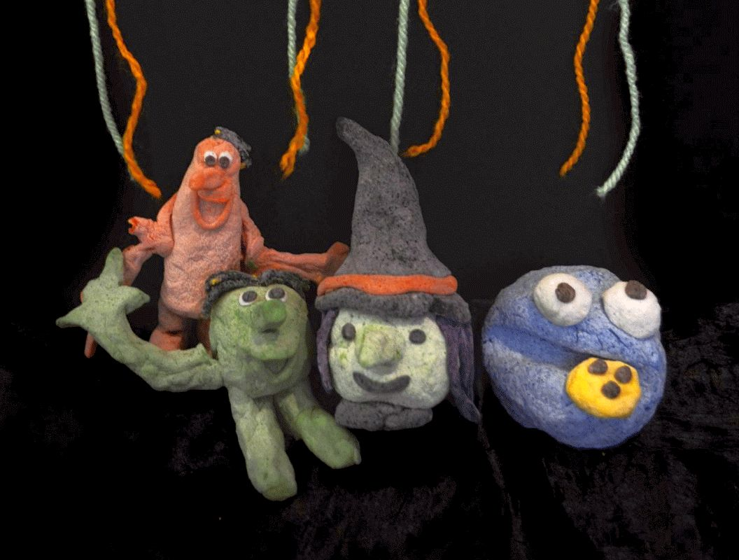 Schauriges Monsterkneten – Das etwas andere Halloween im Kunstmuseum