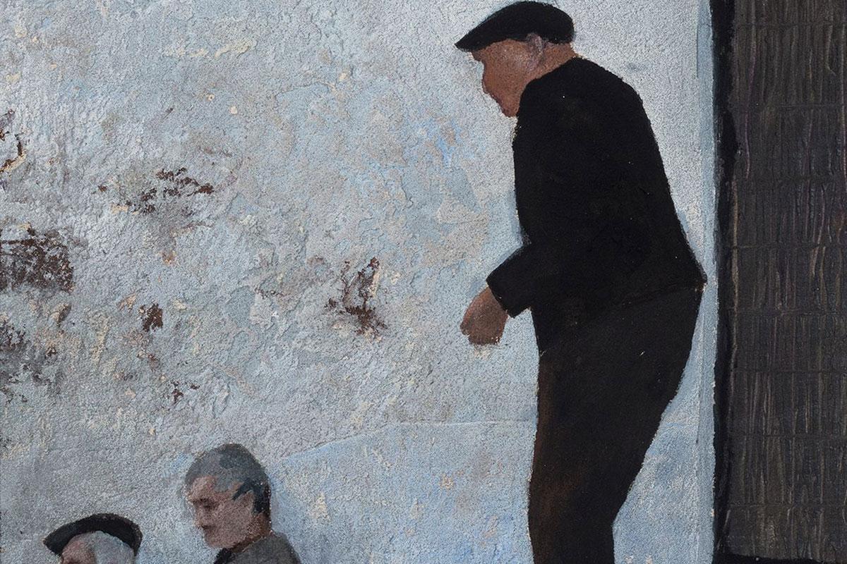 Schwarz ist bunt! – Führung durch die aktuelle Ausstellung der Eberhard Schlotter Stiftung
