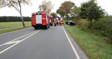Schwerer Verkehrsunfall vor Eschede
