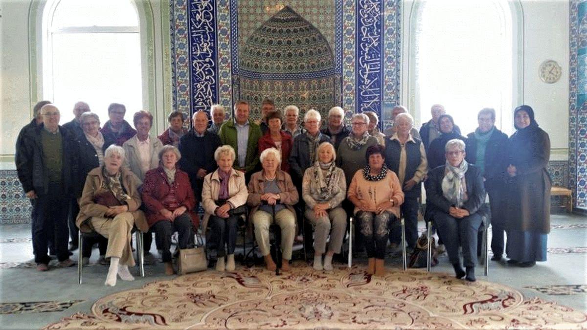 SoVD Nienhagen besucht Mevlana-Moschee in Nienhagen