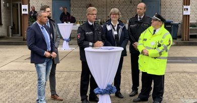 Tag der Sicherheit 2019 bei der Polizeiinspektion Celle