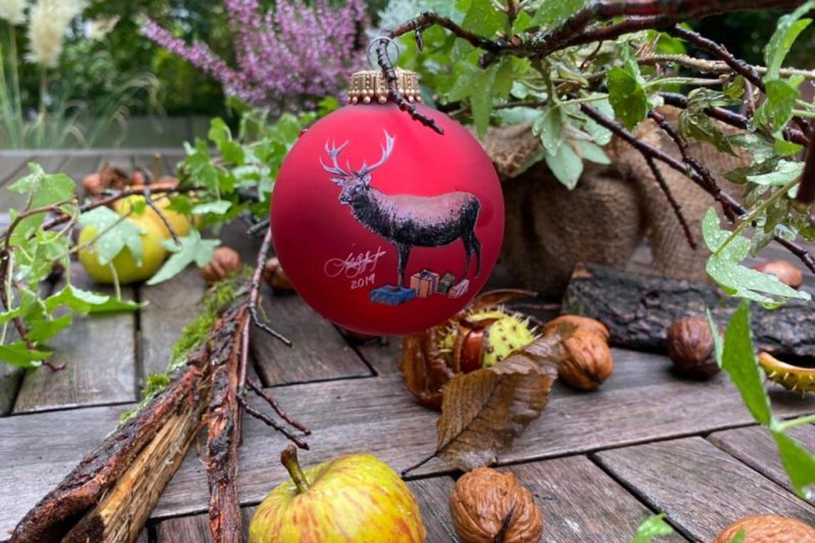 Vernissage der Lions Weihnachtskugel 2019 des LC Celle Residenzstadt