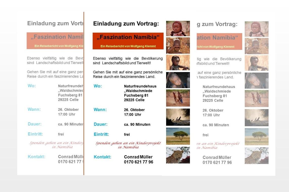 """Vortrag: """"Faszination Namibia"""""""