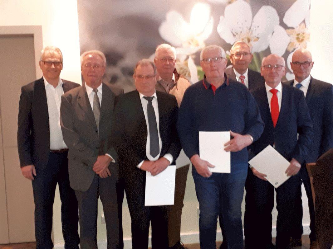 50 Jahre Anteilseigner – Volksbank Celle ehrt langjährige Mitglieder