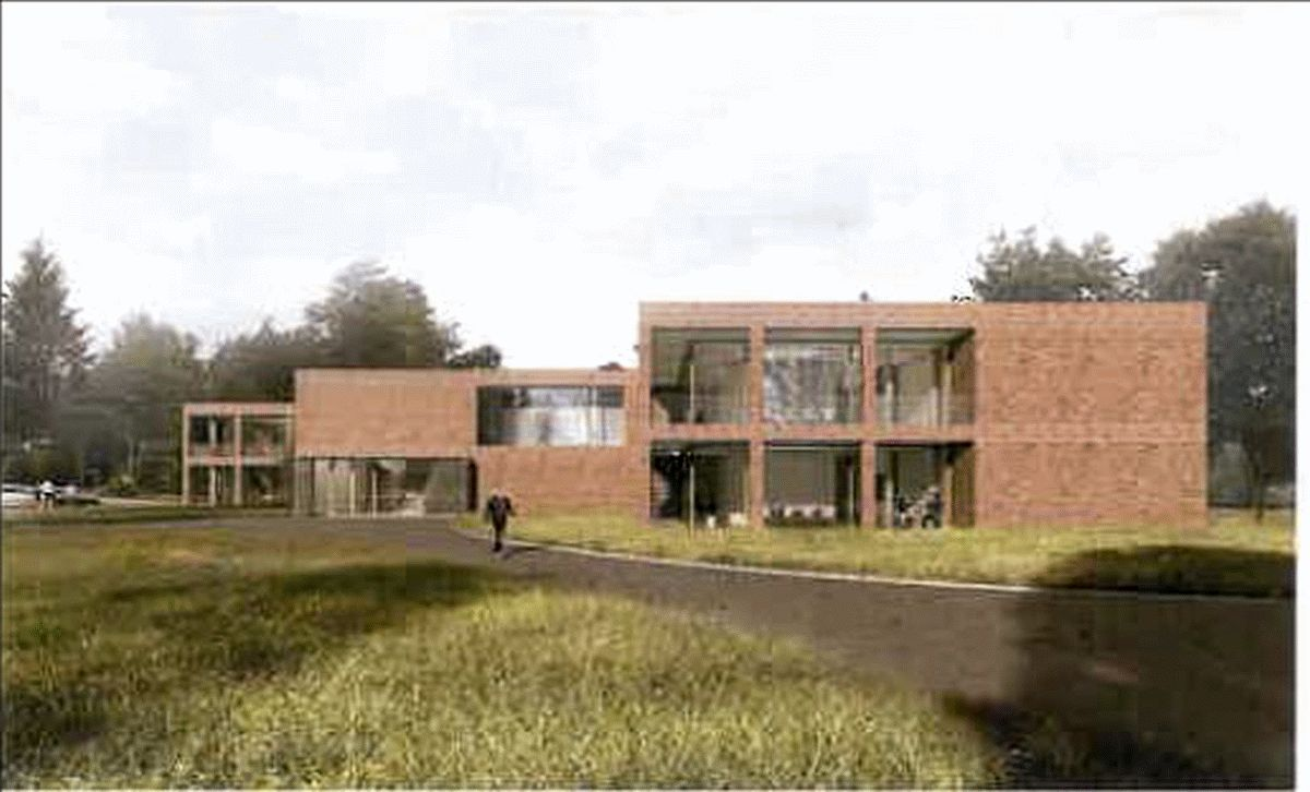 """Ausstellung der Wettbewerbsarbeiten """"Neubau eines Unterkunftsgebäudes in Celle-Scheuen"""" an der NABK Standort Celle"""