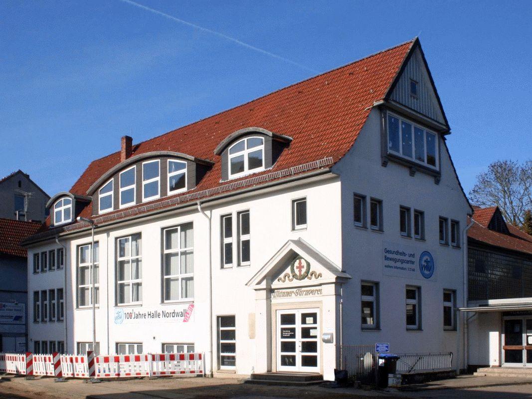 Baukulturdialog Celle: Bemühungen zur Sanierung der MTV-Halle