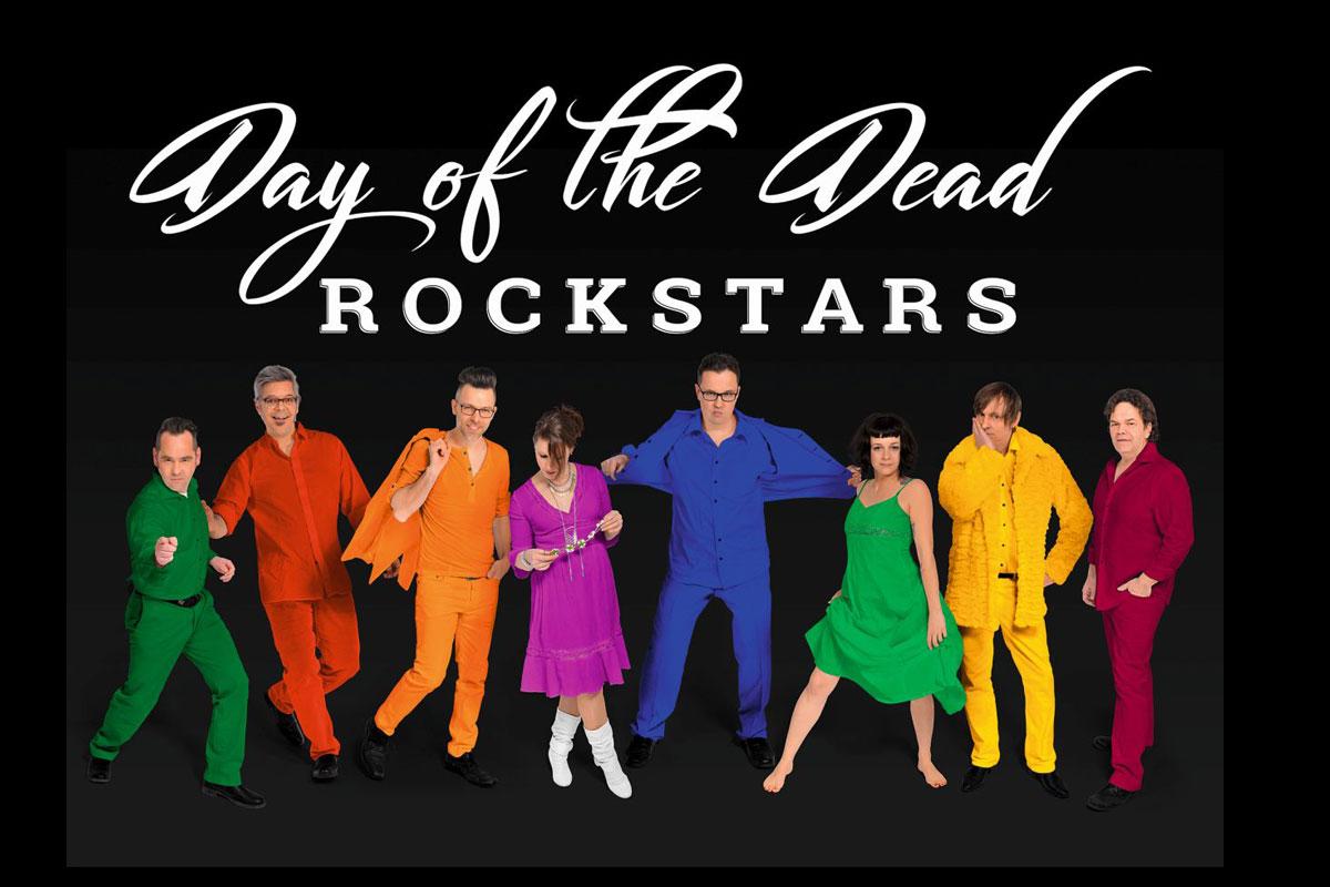 DAY OF THE DEAD ROCKSTARS – Songs von David Bowie, Prince, Tom Petty, Freddie Mercury, Bob Marley uvm. werden in dieser Show vereint