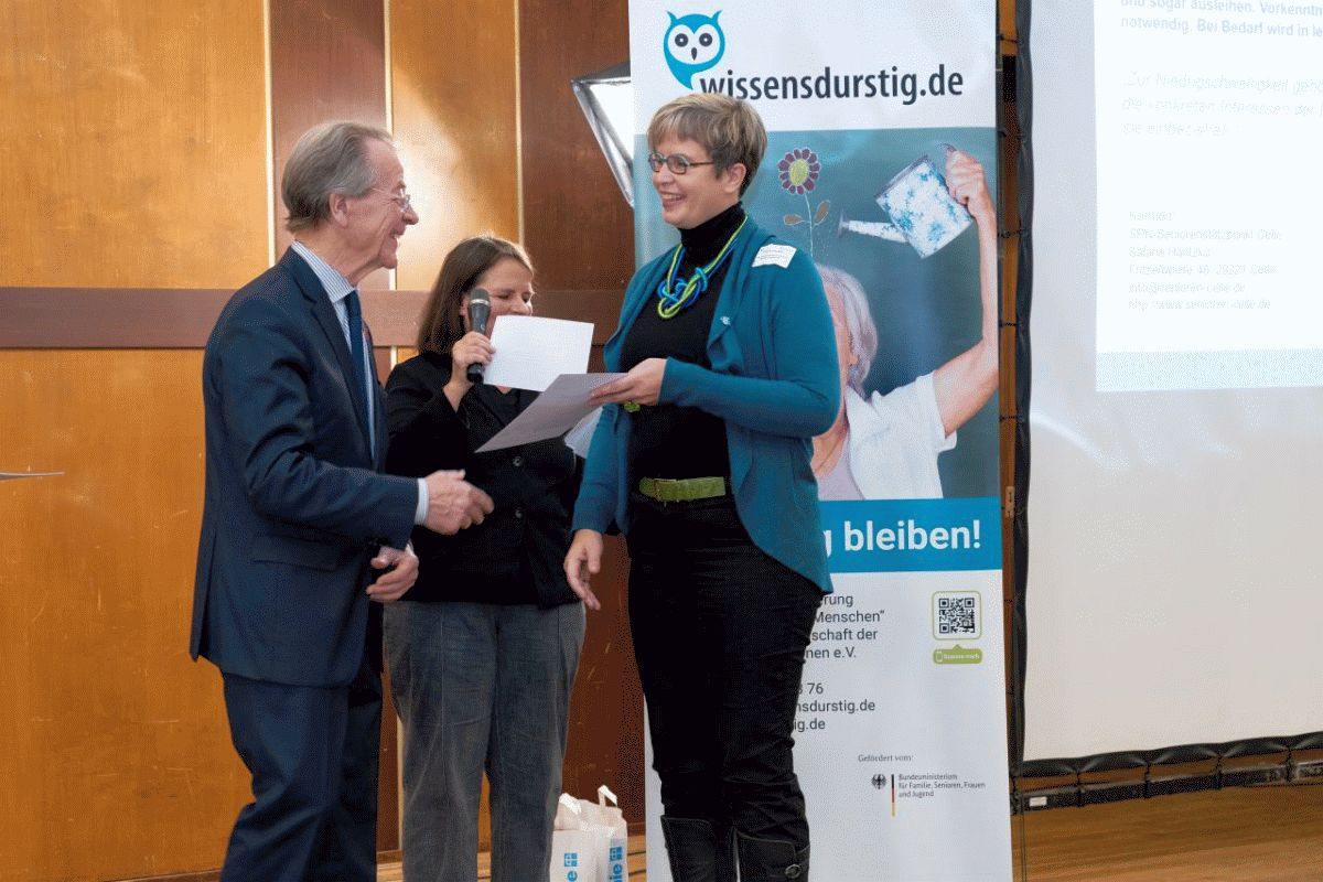 Fachtagung gemeinsam lernen: analog und digital – Auszeichnung für Celler ComputerTreff