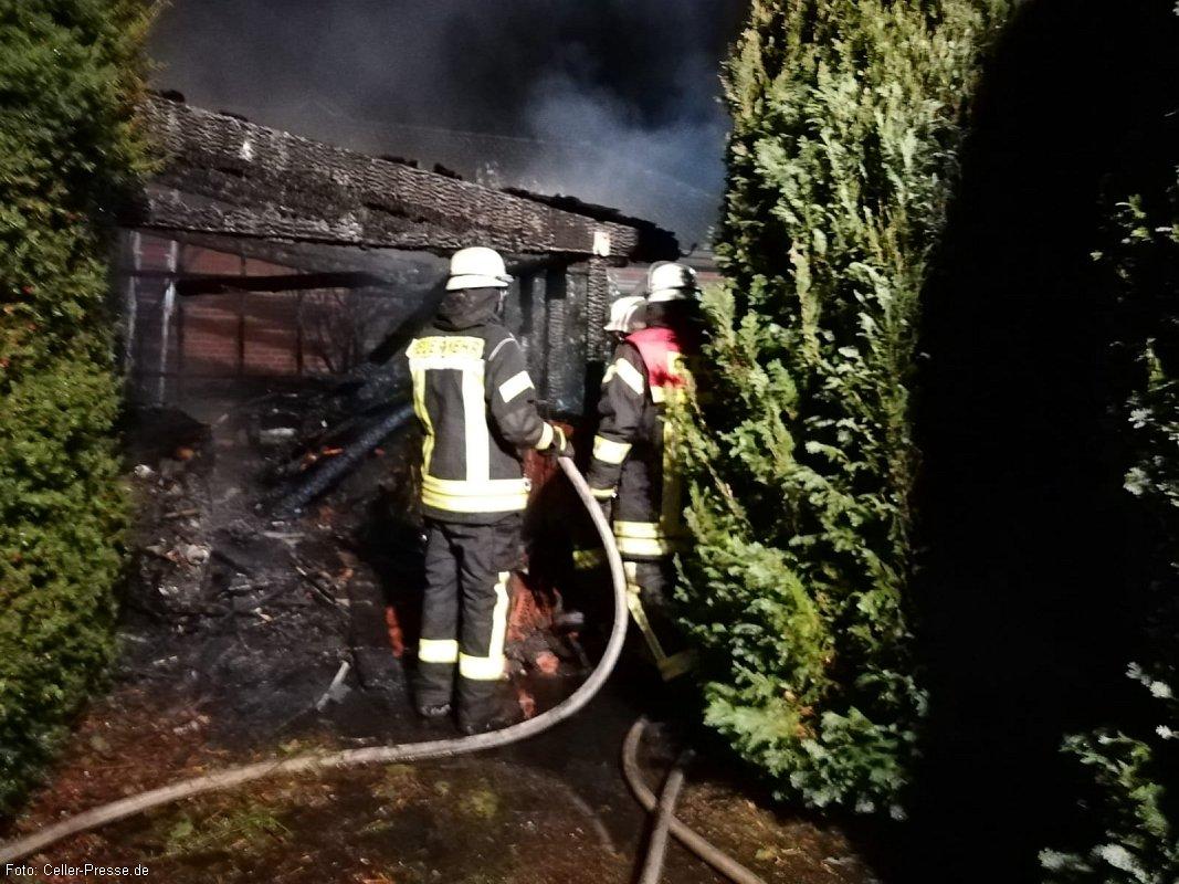 Feuer in Westercelle *** aktualisiert