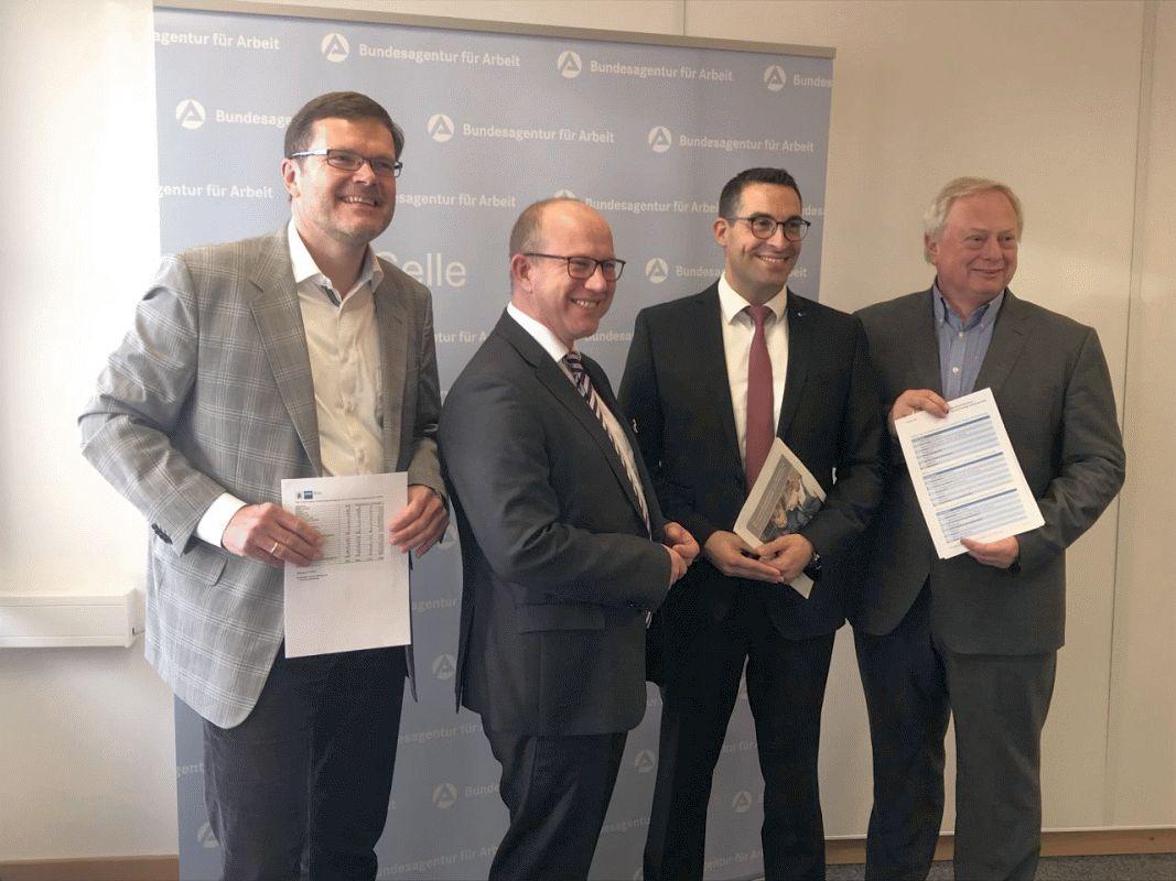 Jahresbilanz: Ausbildungsmarkt im Landkreis Celle und Heidekreis 2018/2019 stabil, aber mit Ungleichgewichten