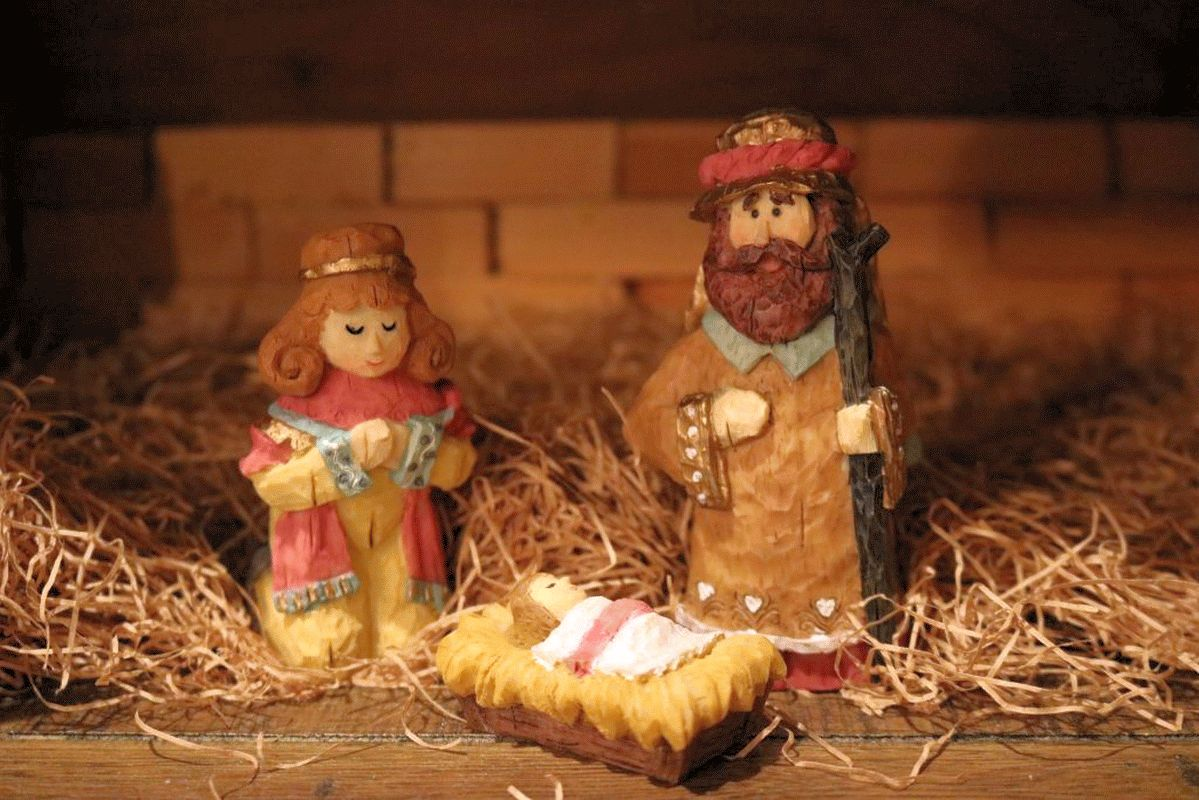 Maria, Josef und der kleine Jesus