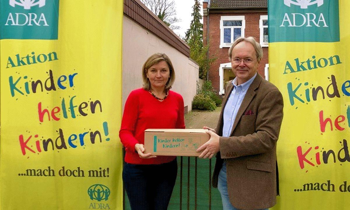 """Ortsrat Neuenhäusen unterstützt die Aktion """"Kinder helfen Kindern"""""""
