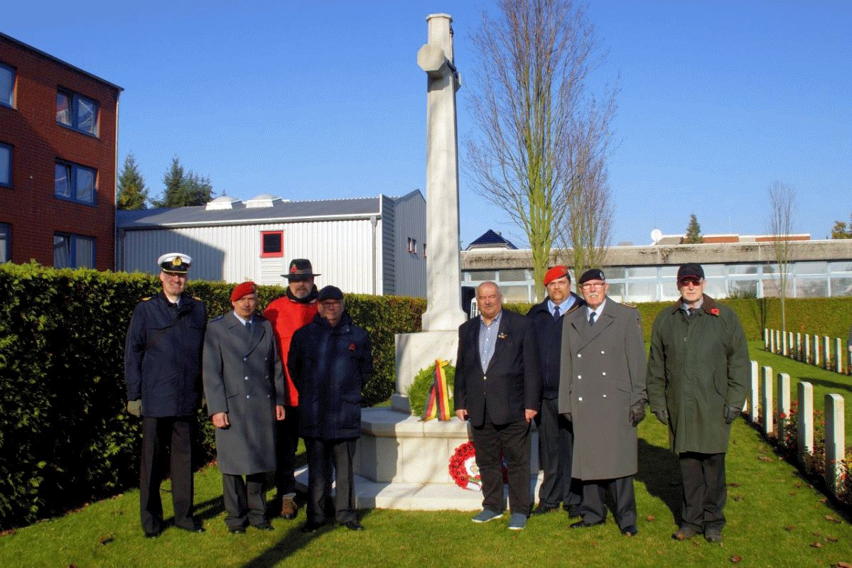 Remembrance Day in Celle