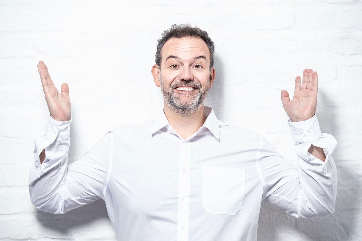 René Steinberg: Freuwillige vor – wer lacht, macht den Mund auf! *** verschoben auf 4. April 2020 ***