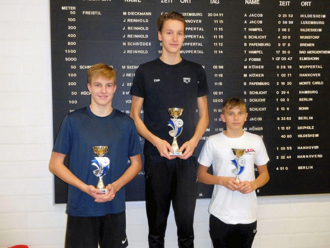 Schwimmen: Kreismeisterschaften der langen Strecken – Benita Grohmann verteidigt Erfolge aus dem Vorjahr
