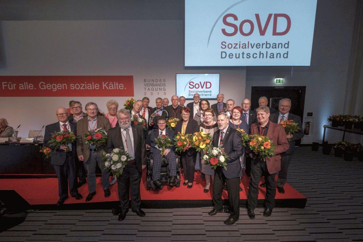 SoVD-Kreisvorsitzender Achim Spitzlei wurde in den Bundesvorstand gewählt