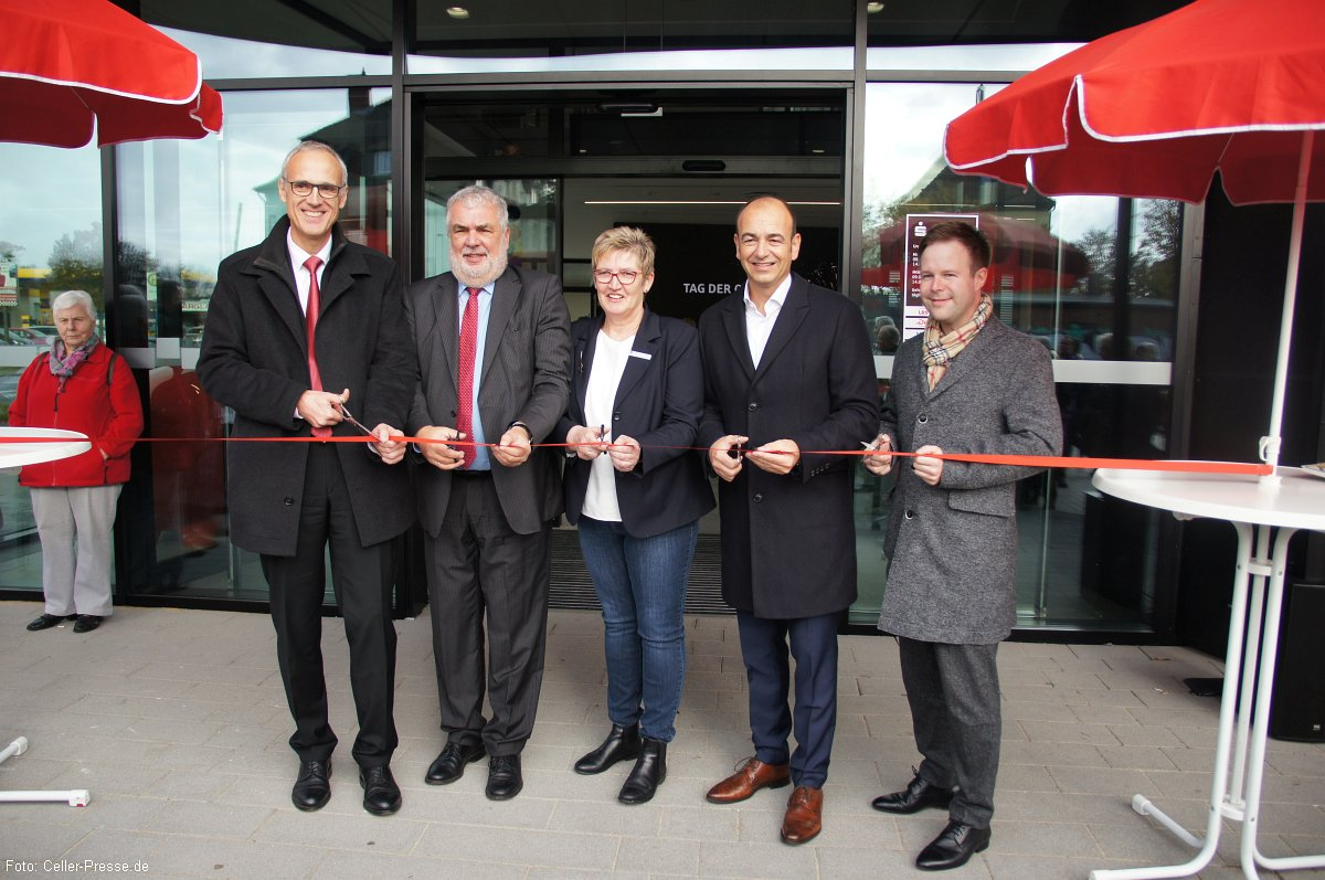 Sparkasse Celle-Gifhorn-Wolfsburg eröffnet die Filiale Celle Vorstadt