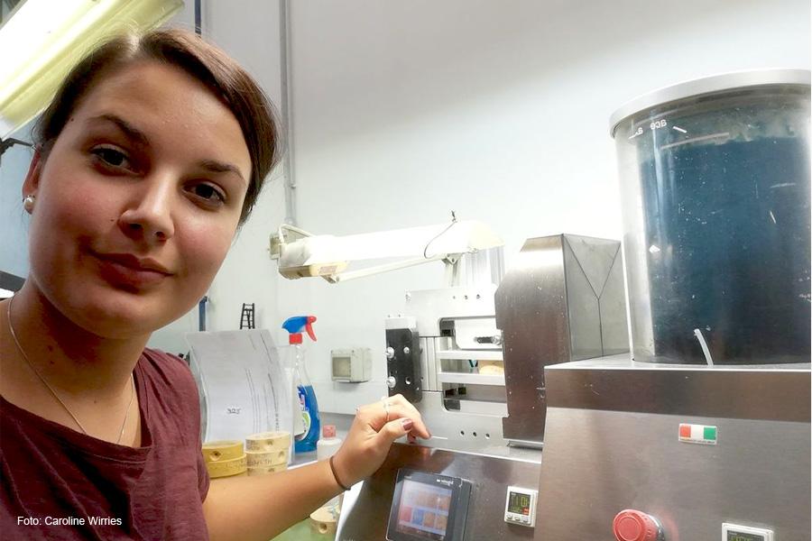 Als Goldschmiedin in Italien – Caroline Wirries aus Bröckel arbeitete zwei Monate in Vicenza