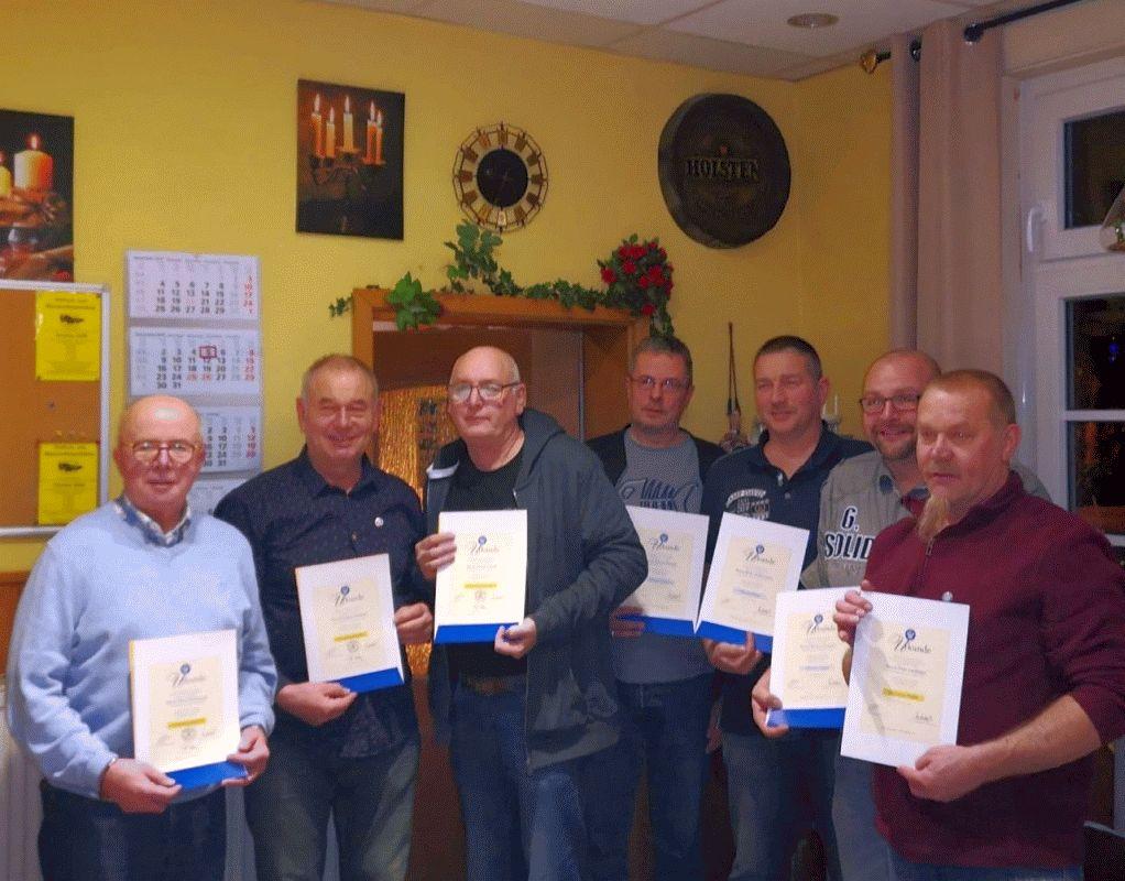 Aquarienverein Cap Lopez Celle feiert Jahresabschluss