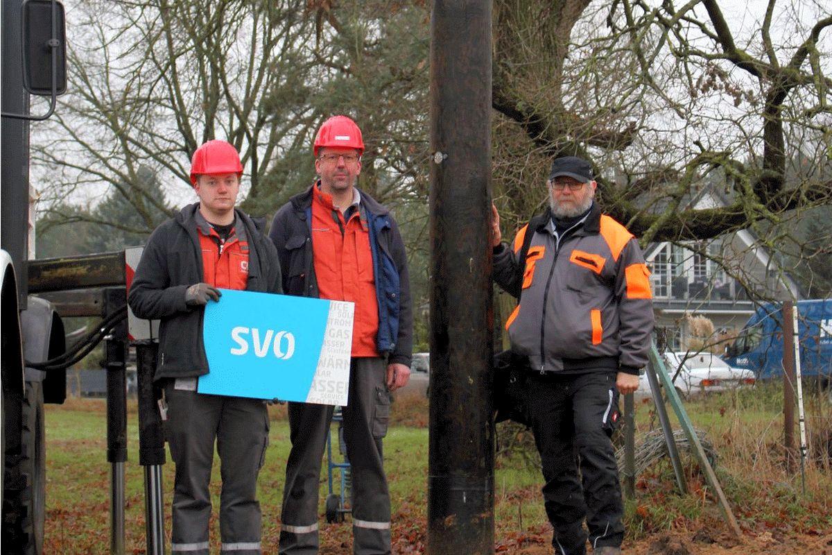 Celle-Uelzen Netz errichtet weiteren Storchennistplatz in Winsen