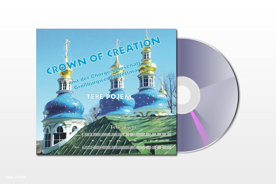 """Crown of Creation präsentiert ihre neue Maxi-CD """"Tebe pojem"""" (Dir singen wir)"""