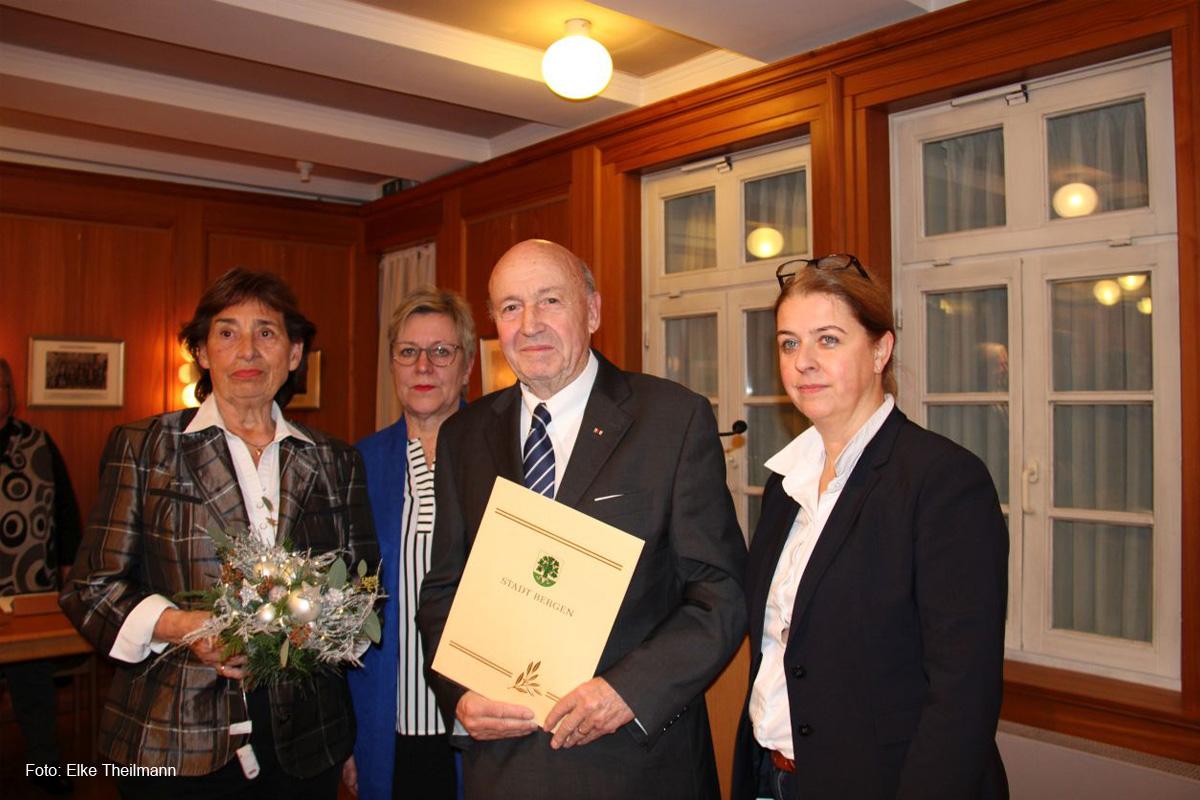 Ehrenbürgerwürde für Adolf Krause