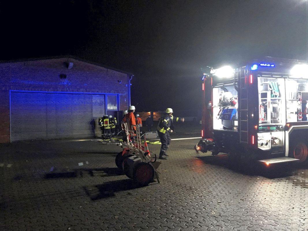 Einsatzübung in Eicklingen