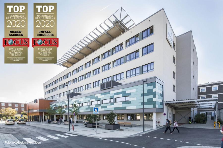 """""""Focus""""-Krankenhausvergleich: Doppelte Auszeichnung für das AKH Celle"""