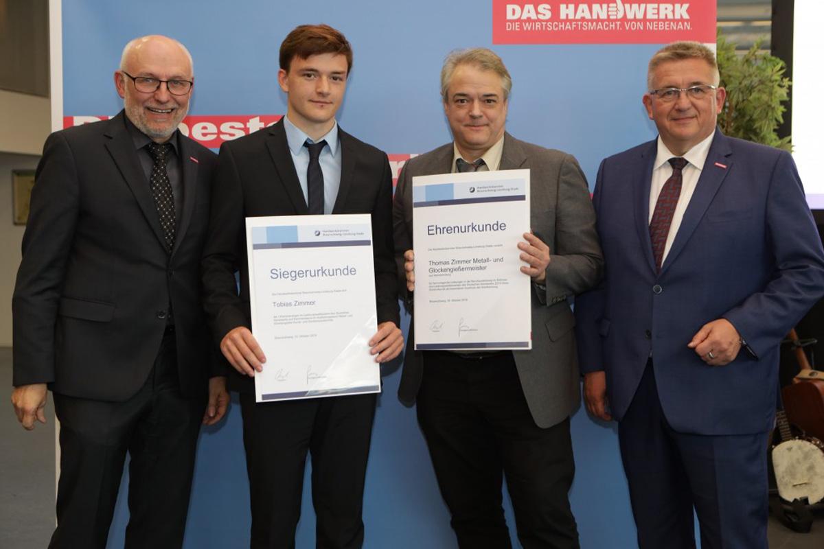 Handwerk zeichnet Azubi-Elite aus – Zwei Gesellen aus den Landkreisen Celle und Rotenburg gehören zu den besten Deutschlands