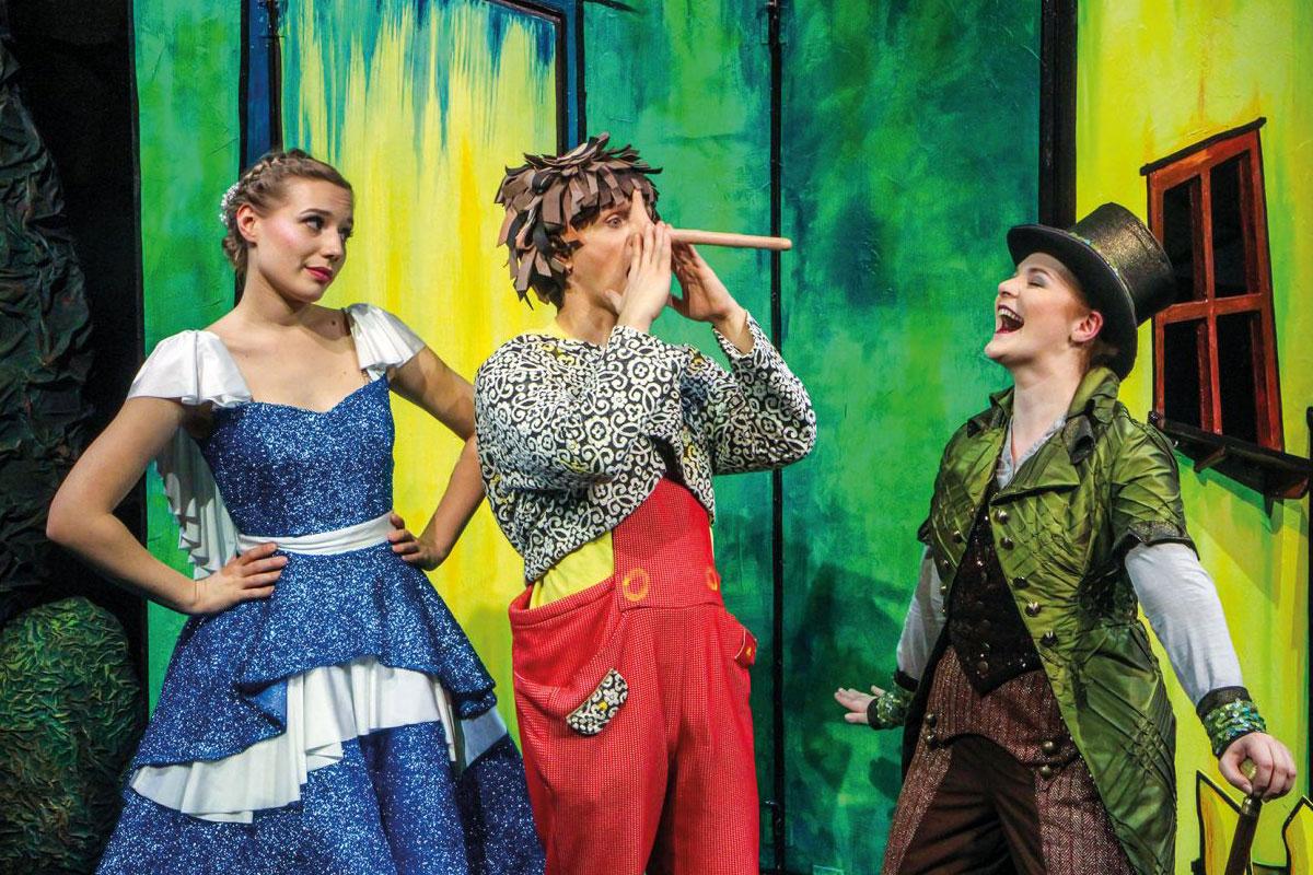 """Hinter den Kulissen von """"Pinocchio – das Musical"""" – Theater Liberi präsentiert den Kinderbuchklassiker in der Congress Union"""