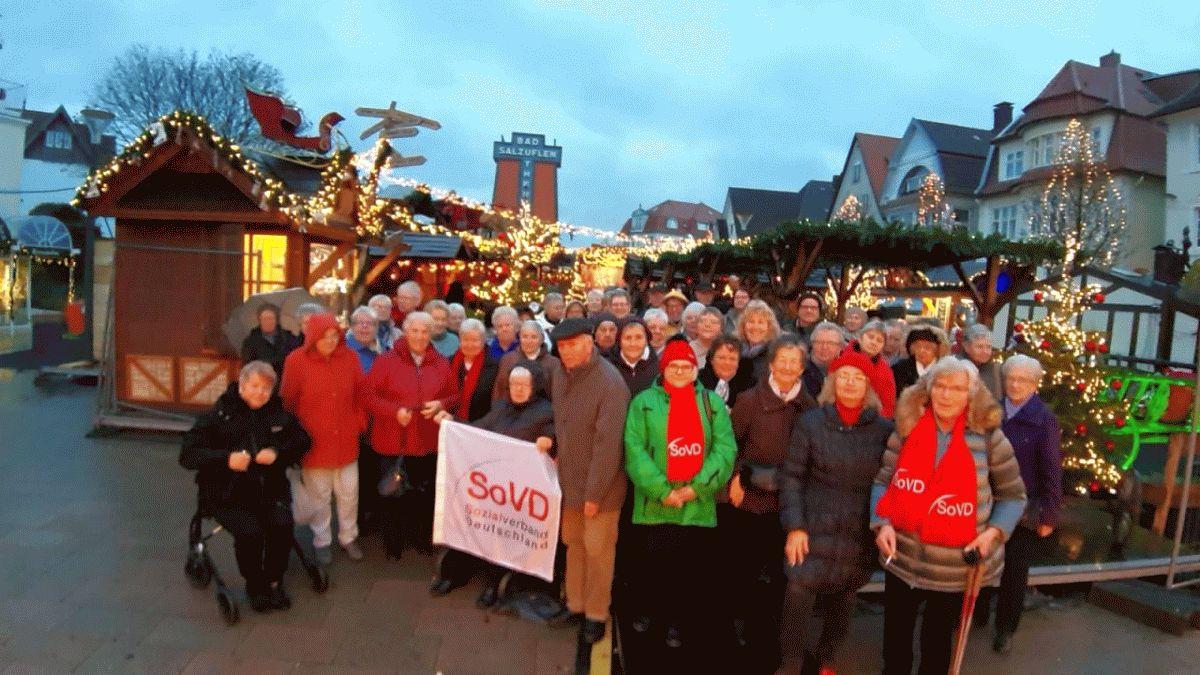 Jahresabschluss-Fahrt des SoVD Kreisverband Celle