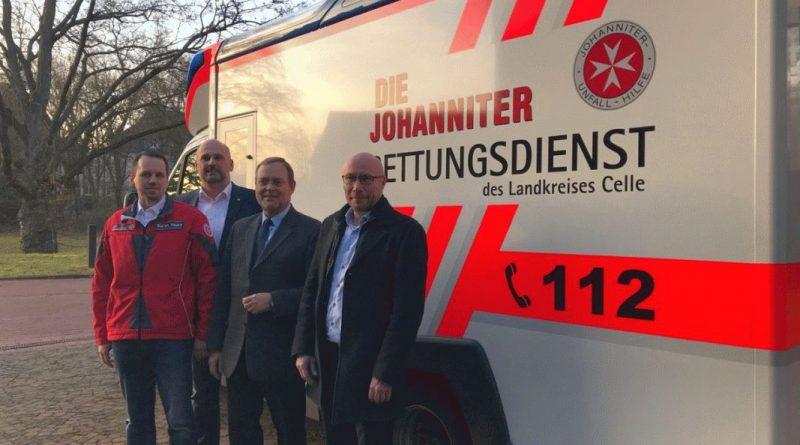 Johanniter gut im Celler Norden gestartet – 1350 Rettungseinsätze und 680 Krankentransporte abgearbeitet