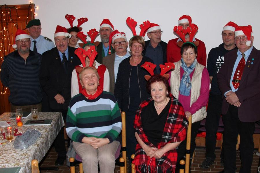 Kameradschaftliche Weihnachtsfeiern der Reservistenkameradschaften im Celler Umland