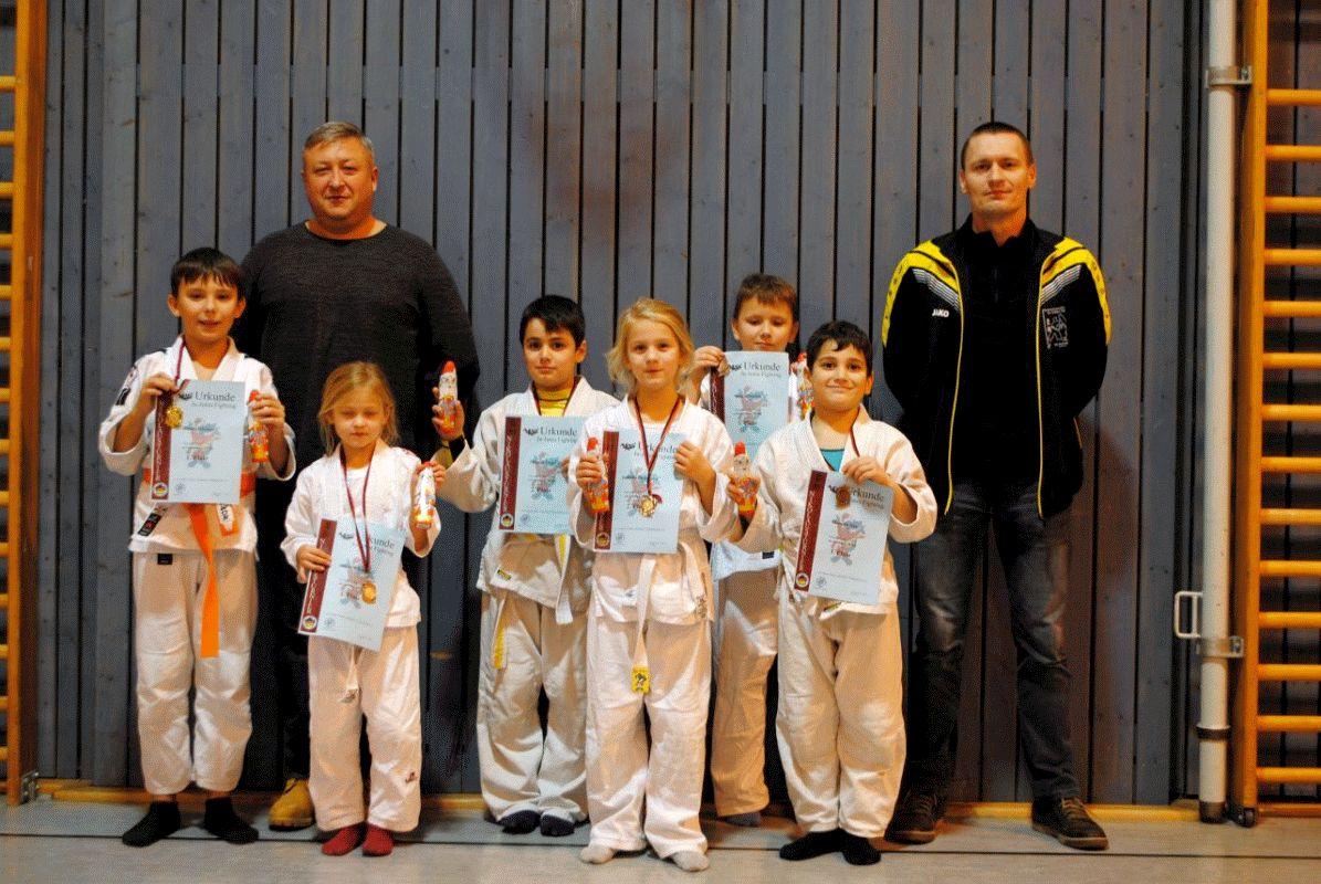 Kompletter Medaillensatz für Ju-Jutsu Nachwuchs des VfL