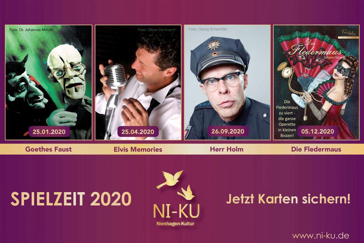 NI-KU – Nienhagen Kultur mit buntem Programm 2020