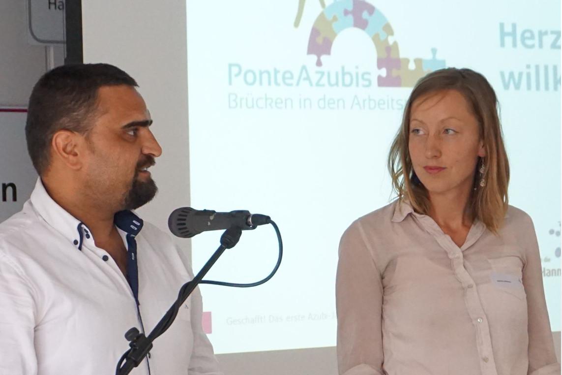 Paten-Projekt für Auszubildende mit Flüchtlingshintergrund