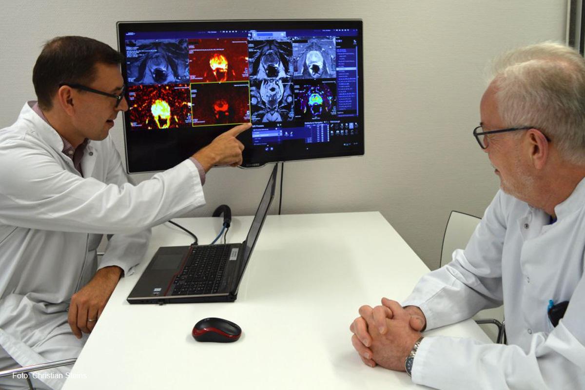 Prof. Dr. Christian Fink erhält Zertifizierung für die MRT der Prostata