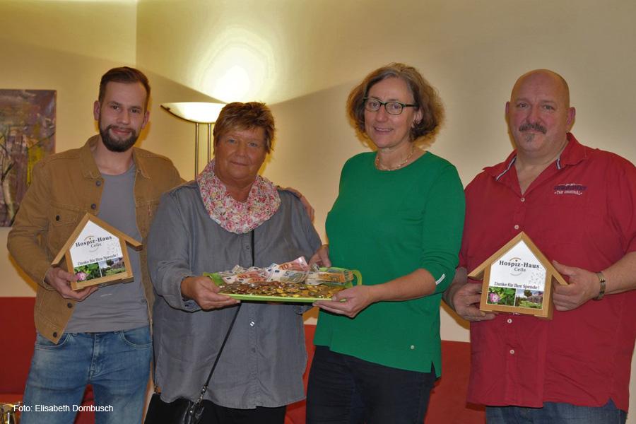 SSV Scheuen spendet Kaffee- und Kuchenerlös ans Hospiz