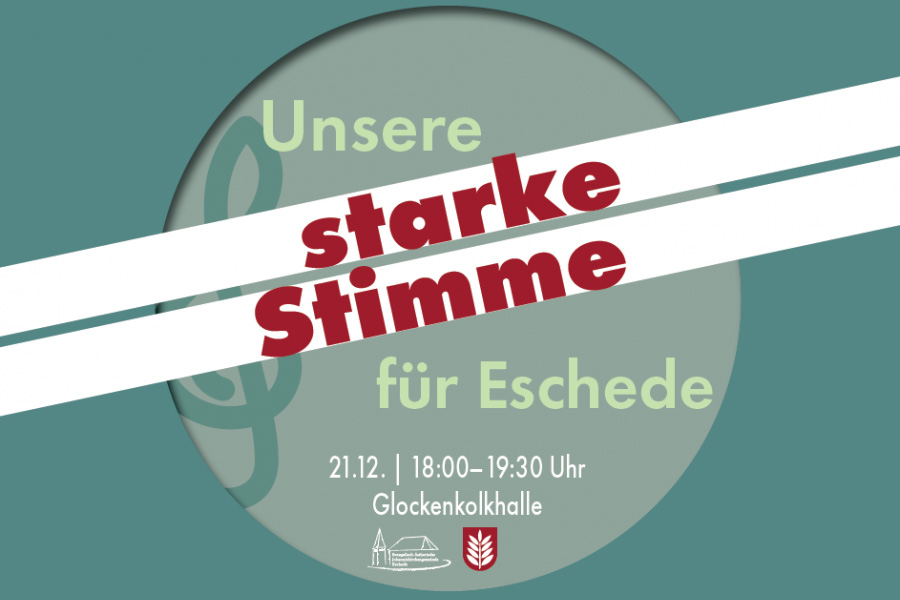 STARKE STIMME für Eschede : Bürgerinnen und Bürger erheben am 21.12. ihre Stimme gegen Rechtsextremismus