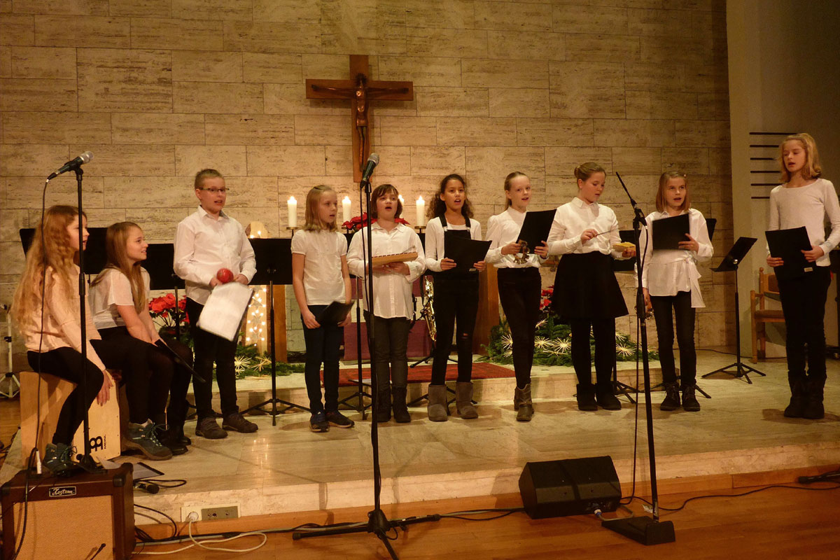 """""""Stern über Bethlehem"""" – Weihnachtskonzert des HBG"""