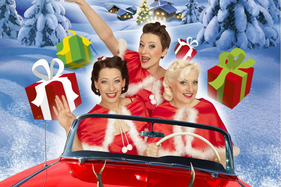 Sweet Sugar Swing: Swingin´ Santa – Die verrückte-traditionell-besinnlich-musikalische Weihnachtscomedy in der CD-Kaserne