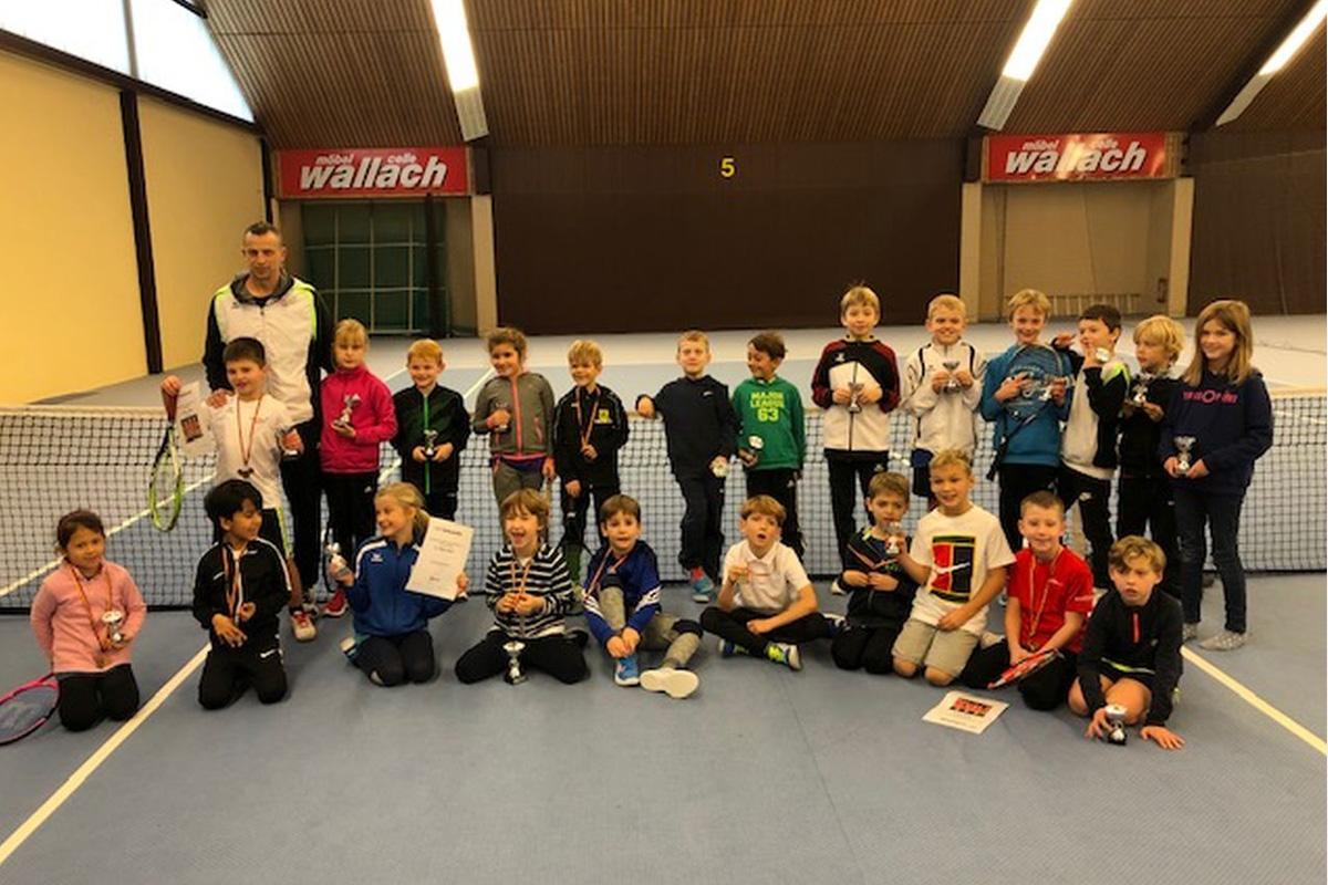 Tennisregion Südheide kürt neue Regionsmeister in den Jüngsten-Konkkurenzen