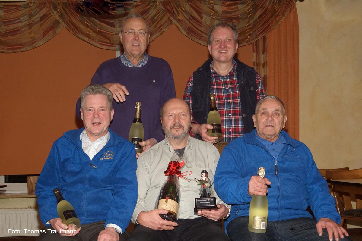 Udo Anklam gewinnt Champagnerpokal